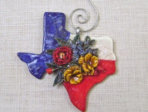 Texas Bouquet ornament
