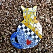 Cat Back Mosaic